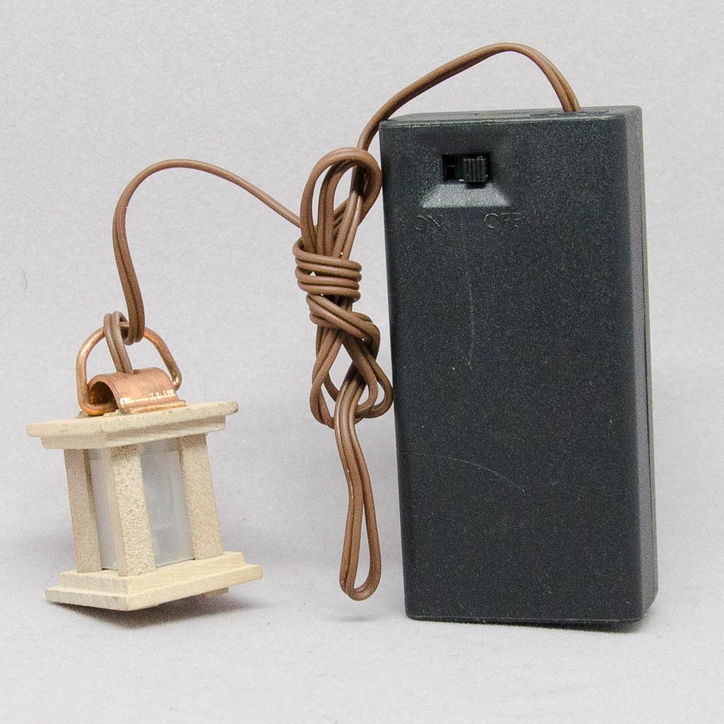 Deckenlaterne  Holz / LED-Beleuchtung