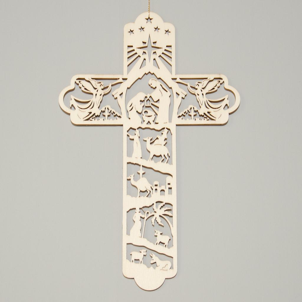 Kreuz - Krippenmotiv