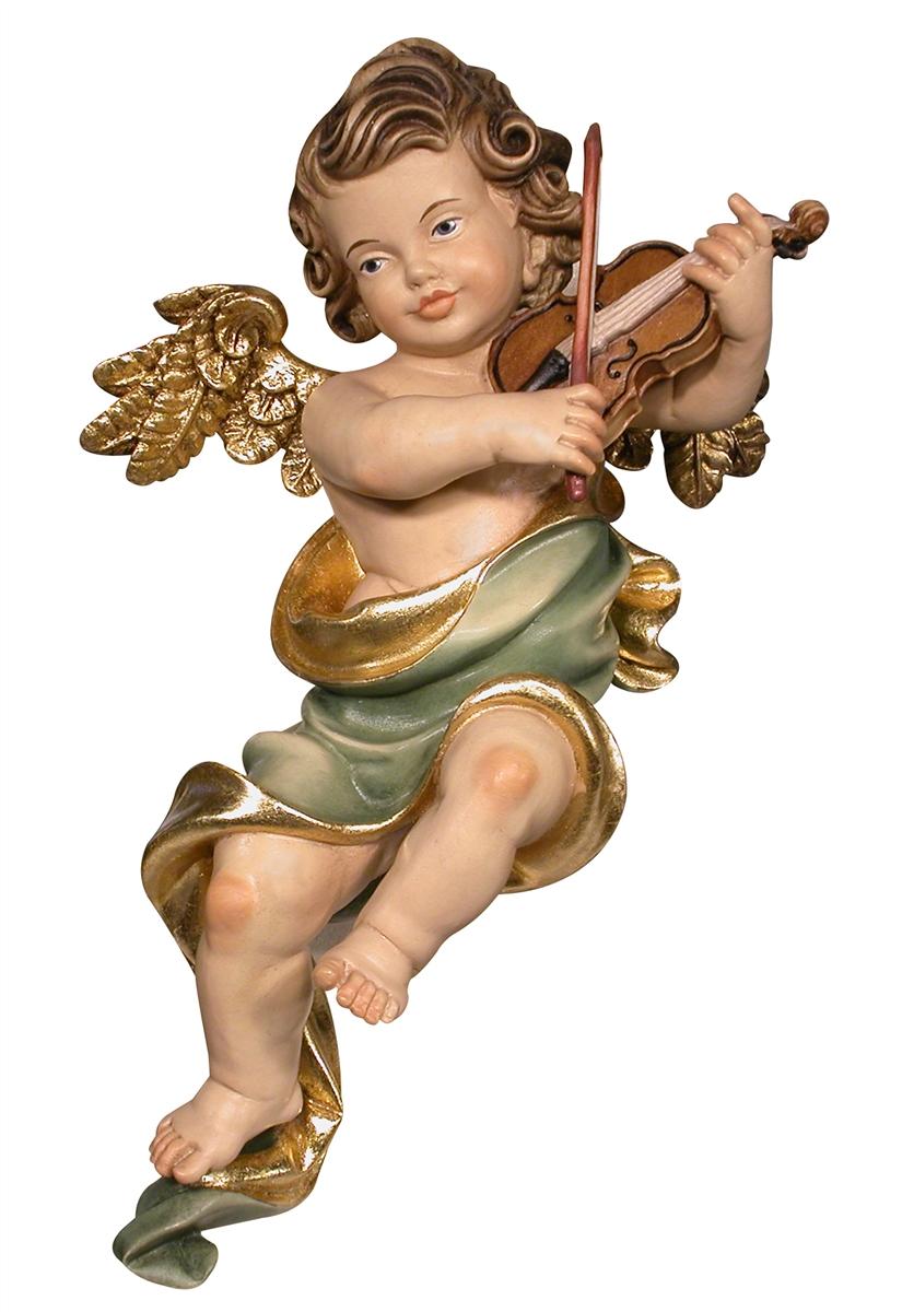 Wandengel mit Violine