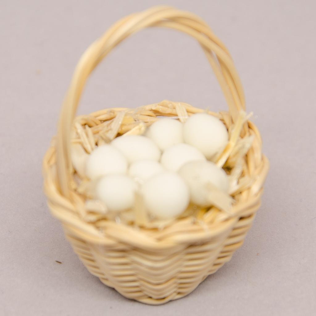 Körbchen mit Eier