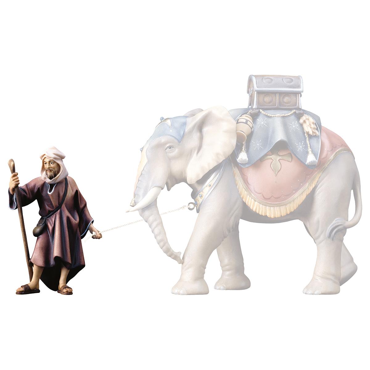 Elefantentreiber stehend (passend zu Elefant stehend)