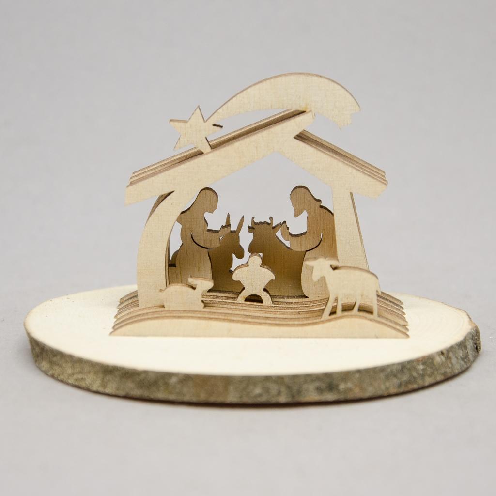 Hl. Familie 3D Miniatur