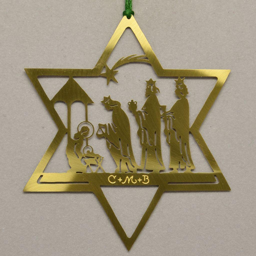 Stern mit Hl. drei Könige