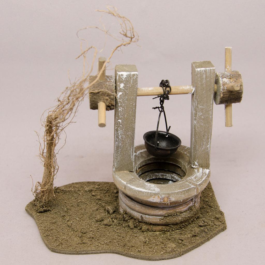 Brunnen mit Kurbel