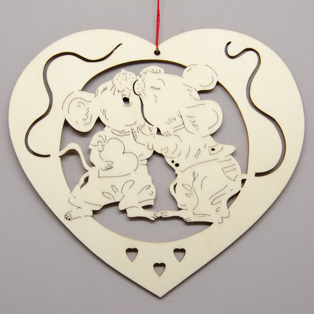 Herz Mäuseliebe