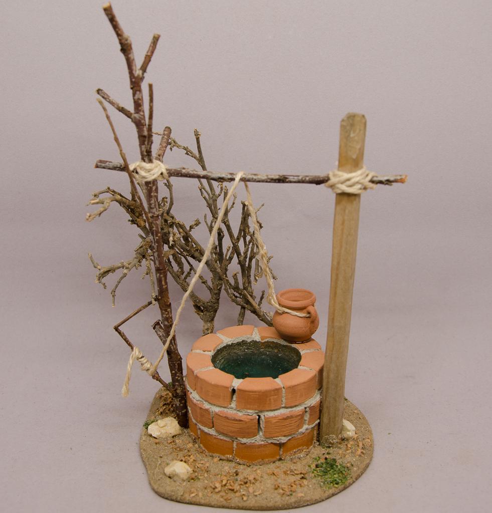 Brunnen rund gemauert