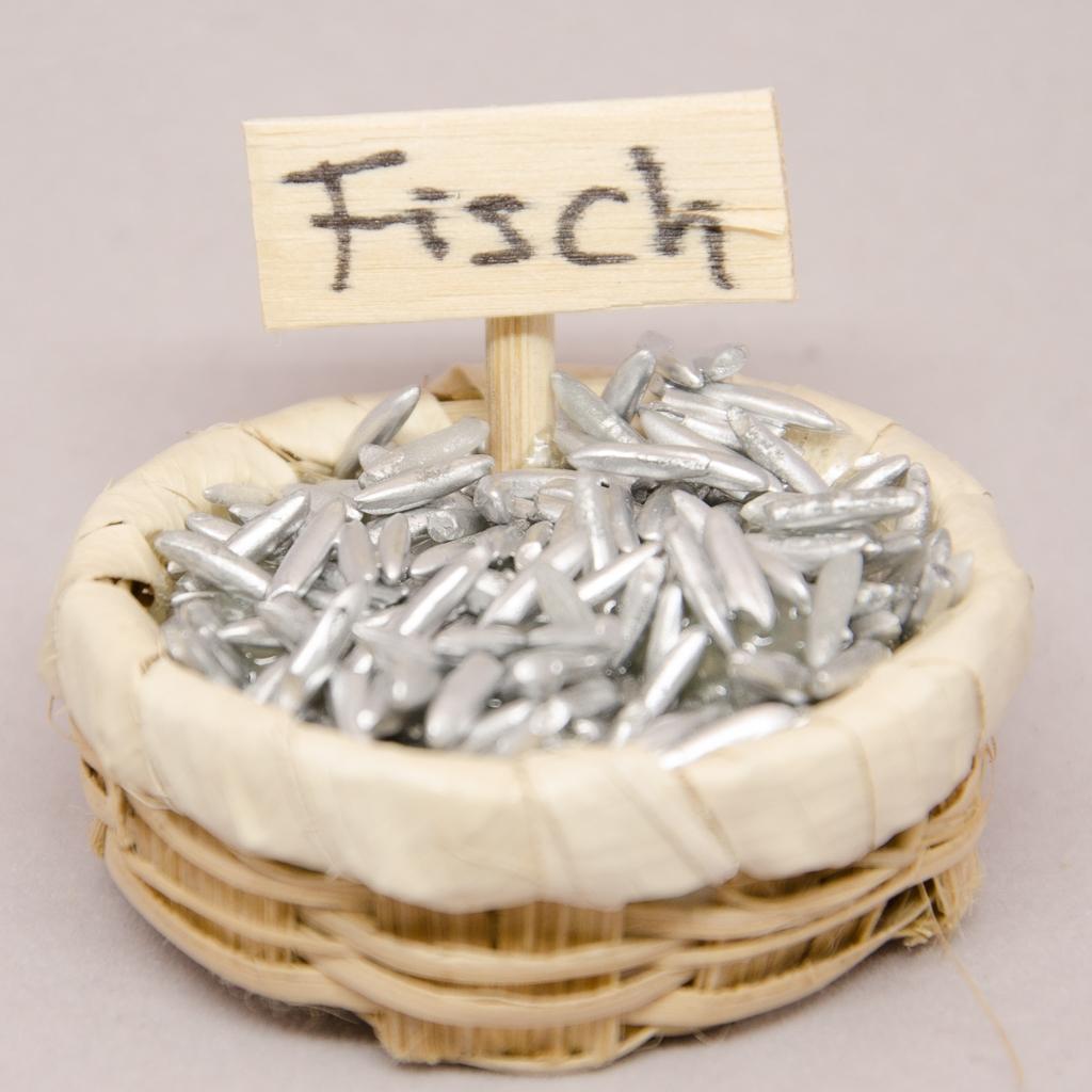 Körbchen mit Fische