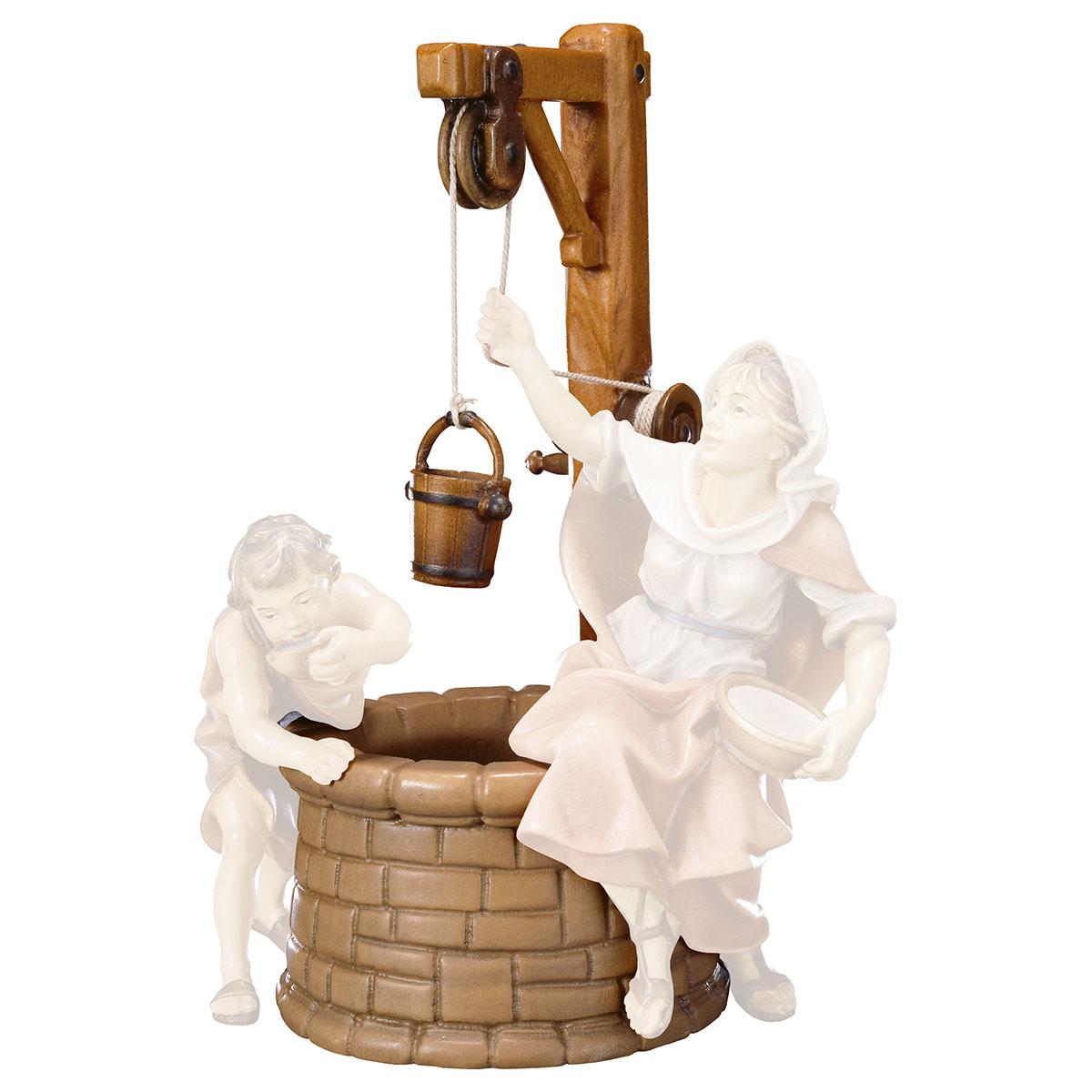 Brunnen mit Eimer (passend zu Brunnengruppe)