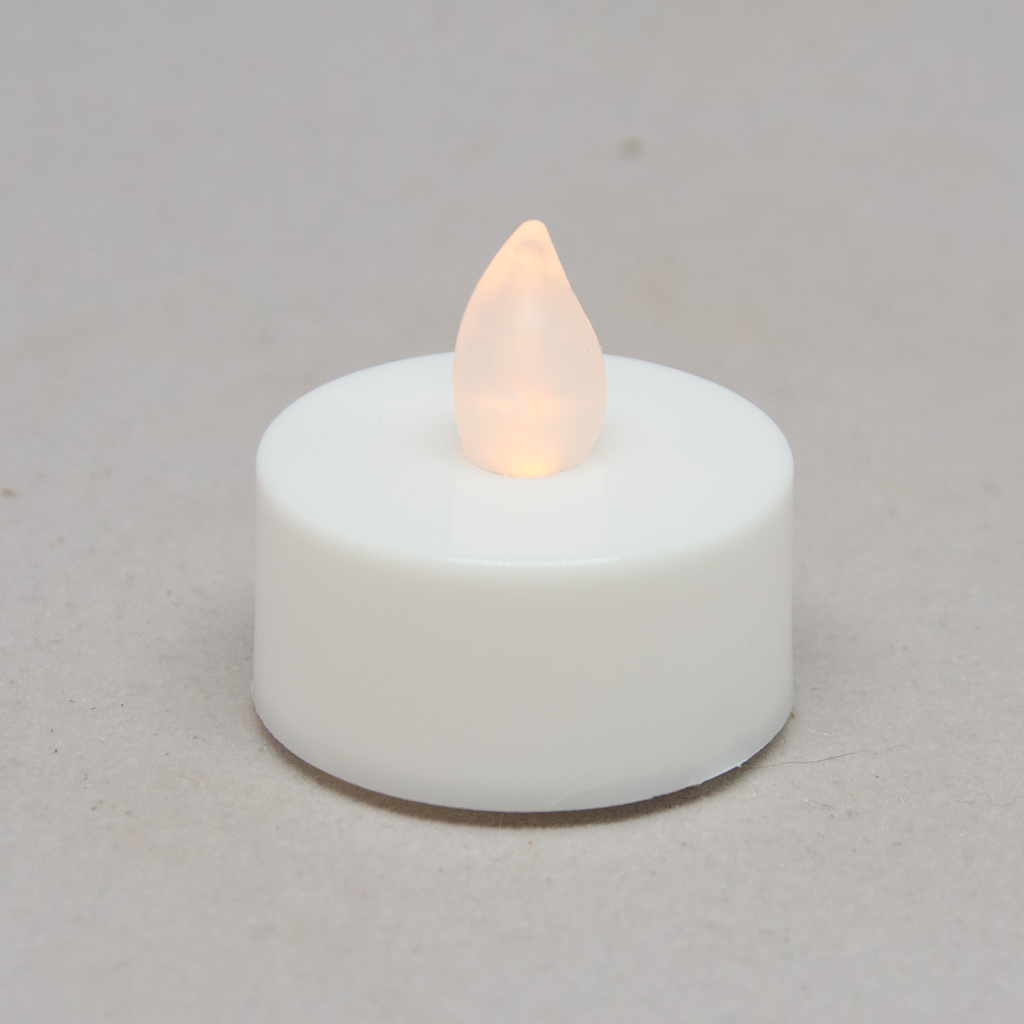 LED-Teelicht flackernd