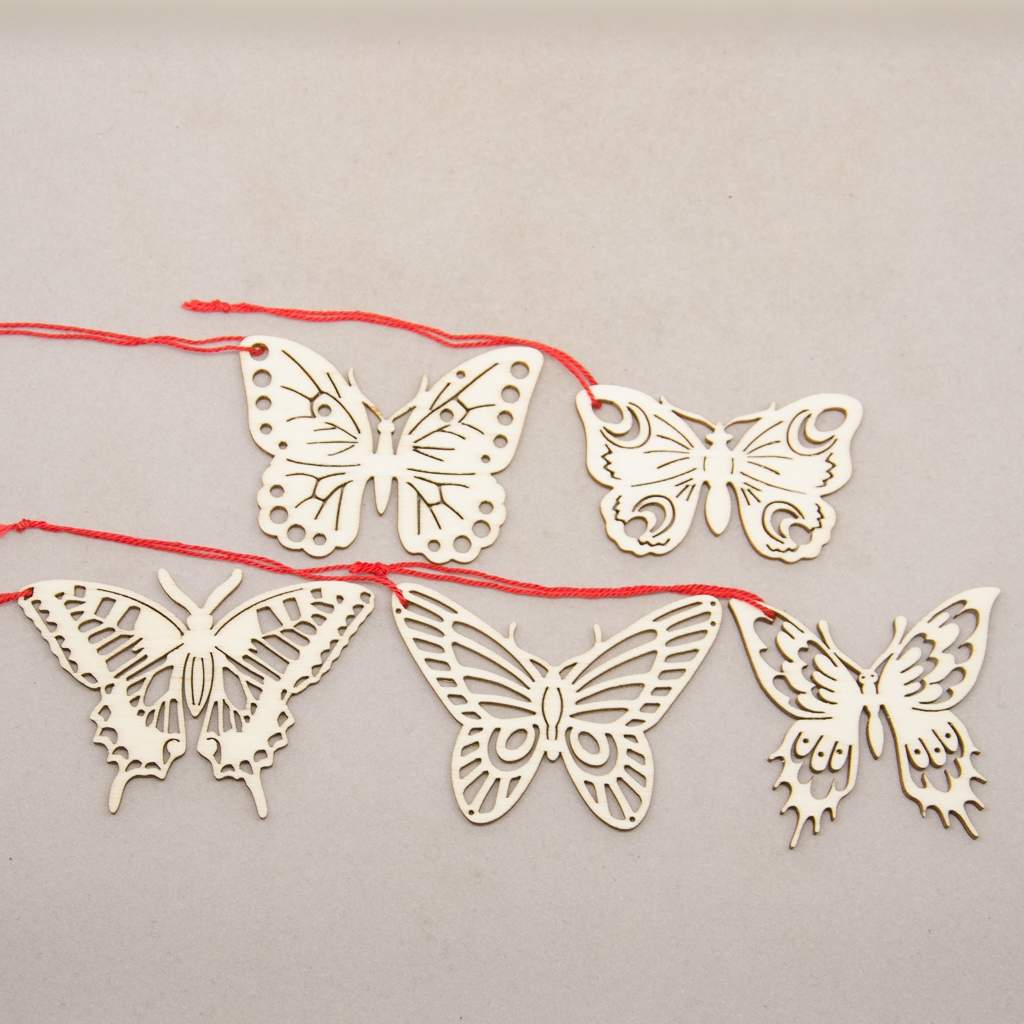 Set Schmetterlinge