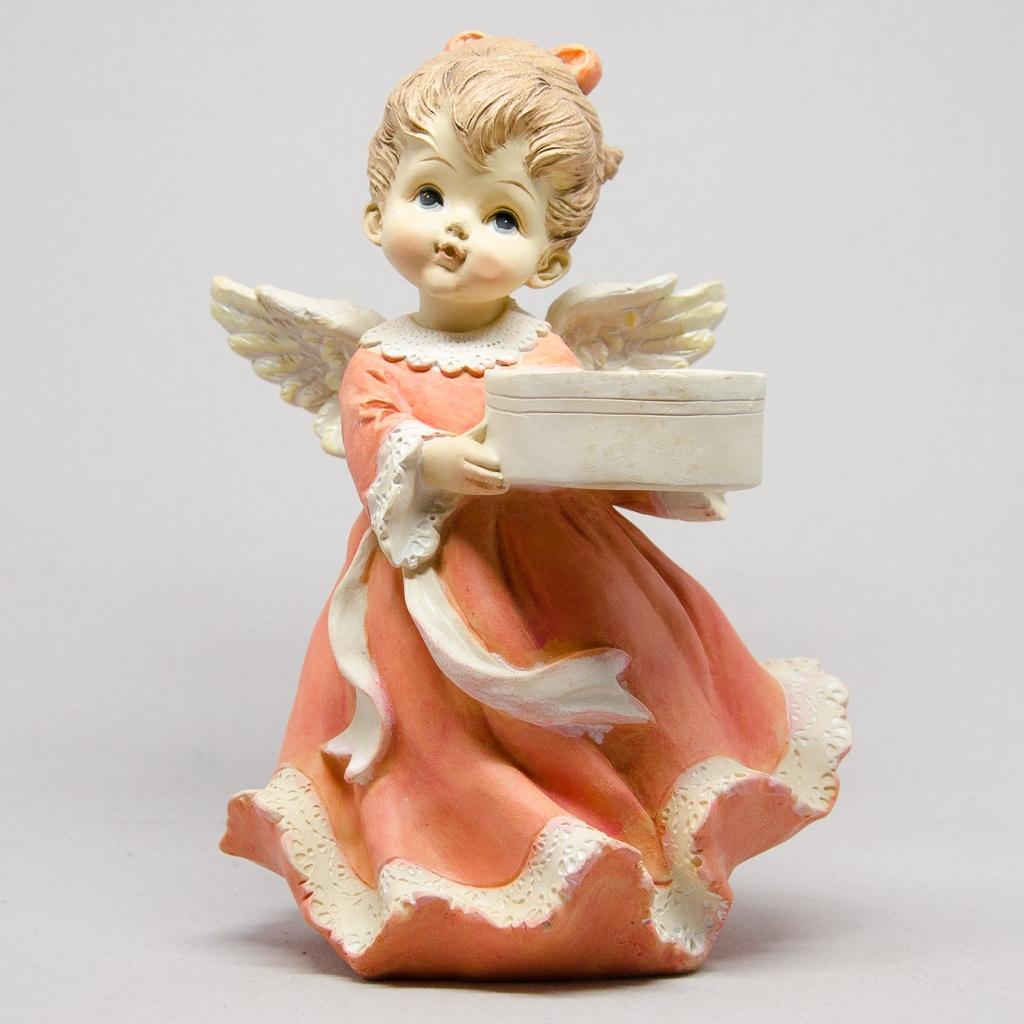 Engel für Teelichtkerze